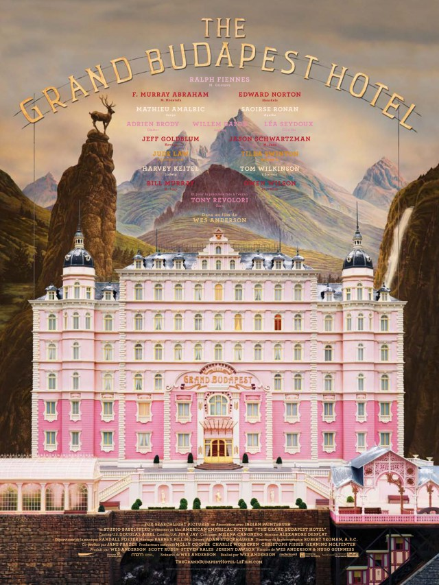 The Grand Budapest Hotel (2014) Director: Wes Anderson