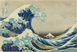 The Great Wave off Kanagawa. Katsushika Hokusai. Cc 1830-33