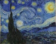 Starry Night. Vincent Van Gogh. Cc 1889